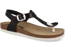 Sandals Las Espadrillas 07-0278-001 (black)