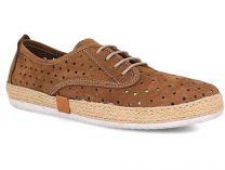 Туристическая обувь Las Espadrillas 10129-451 унисекс   (коричневый)