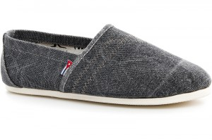 Summer shoes Las Espadrillas Grey Jeans 1015-37