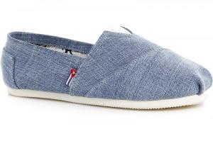 Летние эспадрильи Las Espadrillas Blue Jeans 1015-40