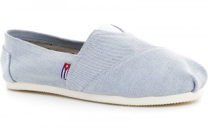 Las Espadrillas Light Blue Jeans 1015-42