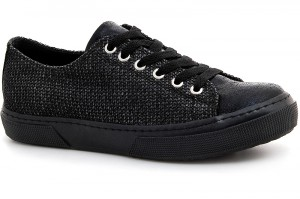 Sneakers low Las Espadrillas 1518-27SH Black