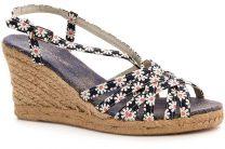 Женская текстильная обувь Las Espadrillas 16R0407C   (синий)