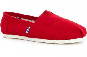 Summer shoes Las Espadrillas 2013-2 Red Cotton