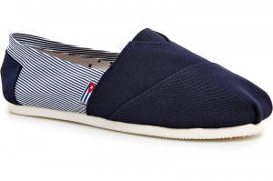 Летняя обувь Las Espadrillas 2023-3 Темносиние