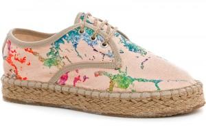 Summer women's lace-up espadrilles Las Espadrillas 2091-34