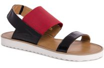 Womens sandals Las Espadrillas 2249-47 Patent leather