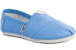 Summer shoes Las Espadrillas 3015-32 Sky Blue