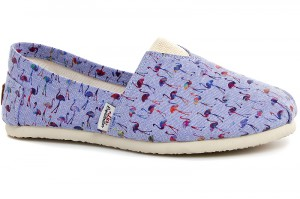 Эспадрильи Las Espadrillas Violet Flamingo 3015-39