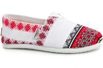 Жіночі чешки Las Espadrillas Vyshyvanka 3015-53 Made in Ukraine