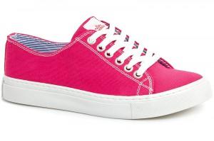 Кеди Las Espadrillas Pink Canvas 4799-9007