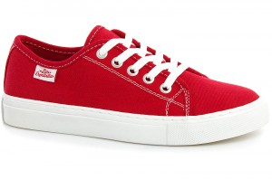 Sneakers Las Espadrillas Classic Red 4799-9696 Red Cotton
