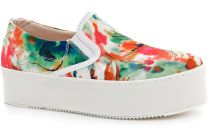 Women's slipons Las Espadrillas White kenzoo 503-22