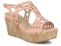 Женские сандалии Las Espadrillas Miss Folx 6602-34   (розовый)