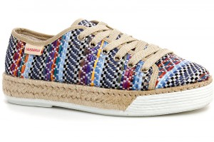 Sneakers Las Espadrillas D4240 Made in Spain