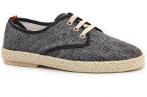 Comfortable loafers Las Espadrillas Negro Fv5503-27 Made in Spain