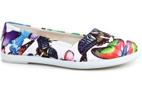 Women's ballerinas Las Espadrillas Kd601-13 Made in Spain