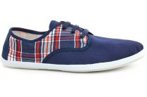 Mens sneakers Las Espadrillas KD608-89 (blue)