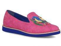 Женские туфли Las Espadrillas Parrot 454684-34   (розовый)