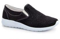 Женская текстильная обувь Las Espadrillas S7332-27 SL   (чёрный)