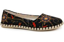 Women's ballerinas Las Espadrillas V5909-27 Made in Spain