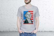 Мужские футболки Las Espadrillas 5458-G858   (серый)