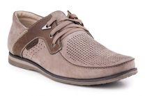 Мужские туфли Forester 1611-329 беж нуб-R   (бежевый)