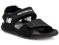 Летние сандалии New Balance Pool YOSPSDBK