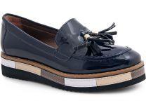 Туфли Las Espadrillas 072201-89 унисекс   (тёмно-синий)