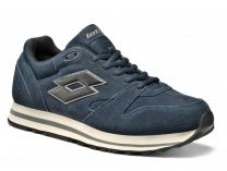 Shoes Lotto Trainer VIII SUE S4196 (Dark blue,blue)