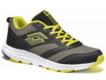 Lotto Speedride running shoes 500 S7558 (Black,Yellow,Gray)