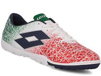 Спортивная обувь Lotto Lzg Viii 700 Tf S7173 унисекс   (зеленый/красный/серый)