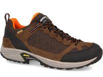 Мужские трекинговые кроссовки Lytos 8AB038-66 (тёмно-коричневый/коричневый/чёрный)