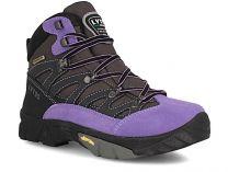 Туристическая обувь Lytos Eiger 24 унисекс   (фиолетовый/чёрный)