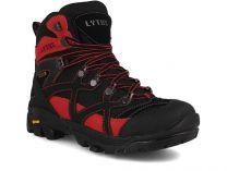 Туристическая обувь Lytos Magma 2 унисекс   (чёрный/красный)