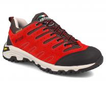 Sneakers Lytos NITRON 57B007 53-53 Vibram Red suede