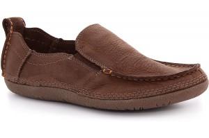 Men's moccasins Las Espadrillas 502-45 Light brown
