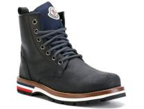 Ботинки Moncler New Vancouver Black Vibram Made in Italy
