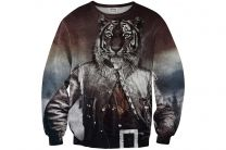 Mr.gugu And Miss Go Colonel Tiger Sweater 8161-3745
