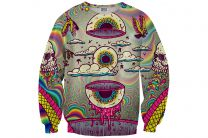 Свитер Mr.Gugu And Miss Go Eyeball Sweater 8161-2134