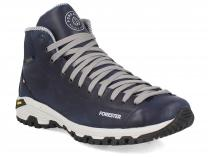 Forester men's shoes Navy Vibram 247951-89 Made in Italy