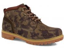 Мужские ботинки Forester Urbanity 7755-621 Chaki Camouflage