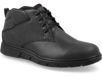 Men's shoes Forester 779-27 Black leather