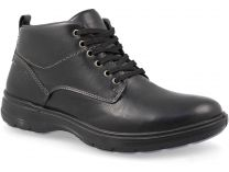 Men's shoes Forester Komfort 4823-23Fo Black leather