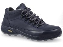 Men's shoes Forester 7843-005 Dark blue leather