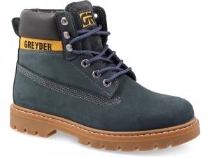 Чоловічі черевики Greyder 10450-5045 Синій нубук