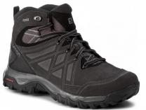 Mens shoes Salomon Evasion 398714 2 Mid Leather Gore-Tex