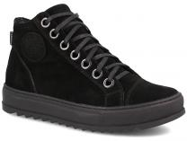 Mens Forester Black Suede 70127-127