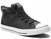 Мужские кеды Converse All Star Street Mid Leather 143727C