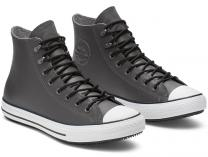 Мужские кеды Converse Chuck Tailor All Star Winter 164926C Grey Leather Water-Repellent High Top